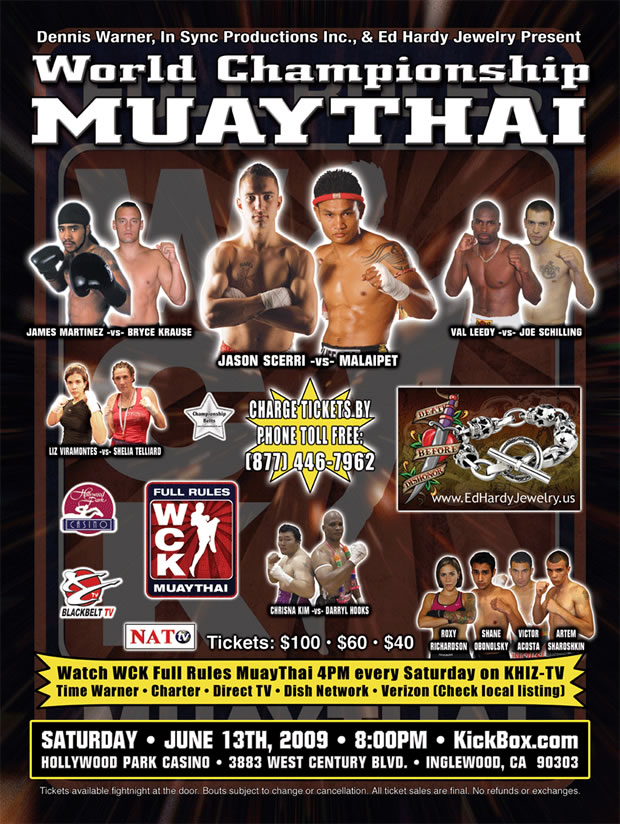Wck muay thai june 13 2009 pr2 for Inglewood jewelry and loan inglewood ca